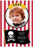 personalized pirate invitations