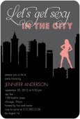 sex and the city invitations
