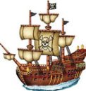 pirate ship decorations