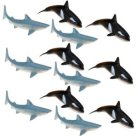 plastic sharks