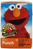 elmo juice box