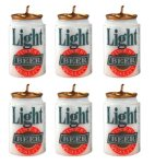 beer can candles