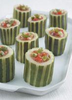 gazpacho cucumber cups