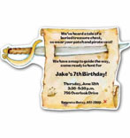 kids pirate invitations