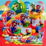 TODDLER BIRTHDAY PARTIES SUPER MARIO BROS