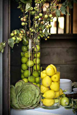limes centerpiece