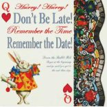 alice in wonderland party invitations