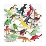 mini plastic dinosaurs