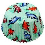 dinosaur cupcake wraps