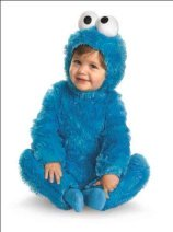 cookie monster baby costume