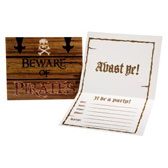 cheap pirate party invitations