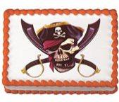 pirate cake topper