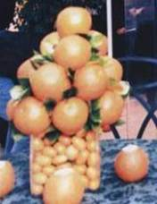 oranges centerpiece