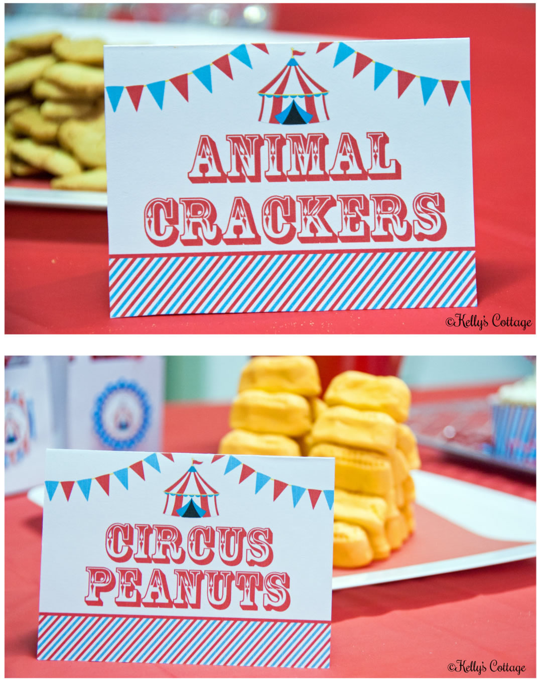 carnival food labels