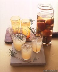 pear rosemary martini