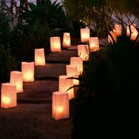 garden party decorations luminaria