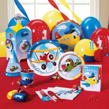 1st birthday party ideas airplane