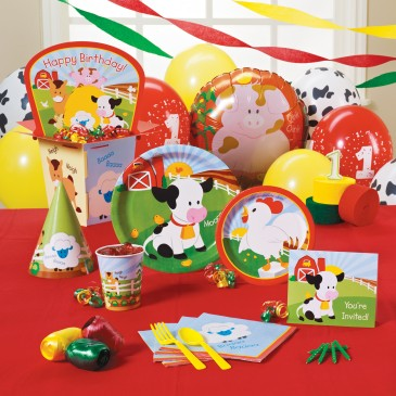 1st birthday party ideas barnyard