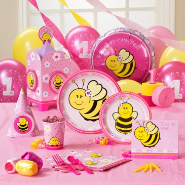 1st birthday party ideas bee