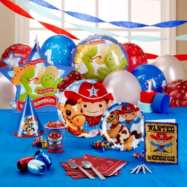 1st birthday party ideas cowboy