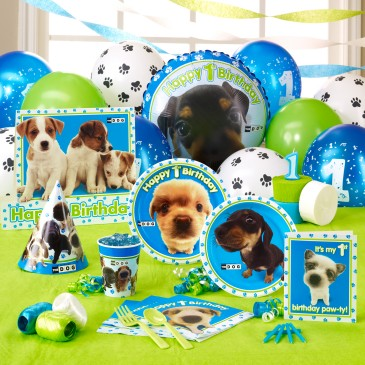 1st birthday party ideas dogs
