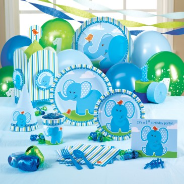 1st birthday party ideas elephant