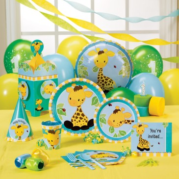 1st birthday party ideas giraffe