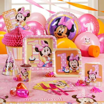 1st birthday party ideas minnie mouse