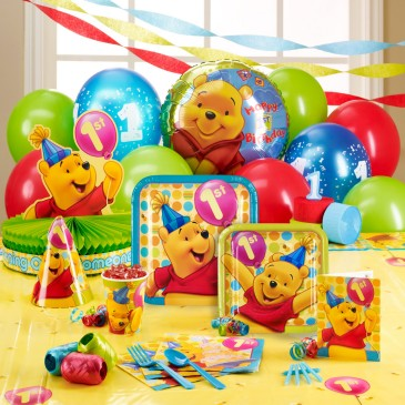 1ST BIRTHDAY PARTY IDEAS WINNIE THE POOH
