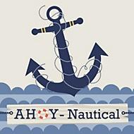 ahoy nautical party theme