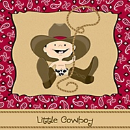 little cowboy party theme