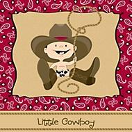 little cowboy party theme