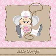 little cowgirl party theme