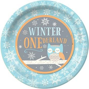 winter one derland party theme
