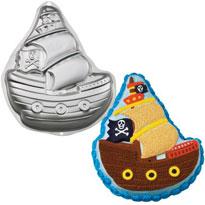 pirate baking pan