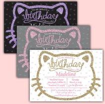 hello kitty custom invitations