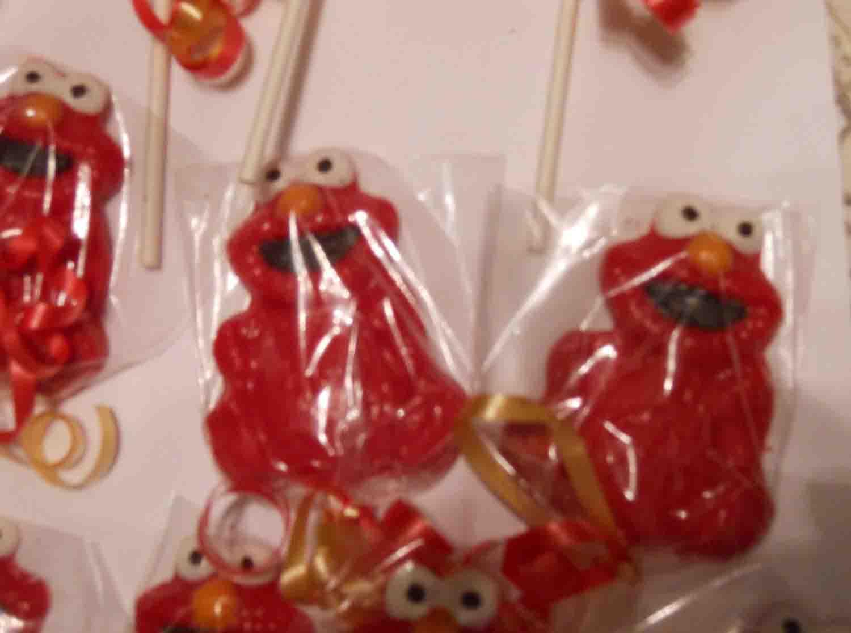 sesame street lollipops