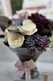grape centerpiece