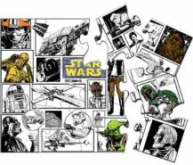 star wars coloring puzzle