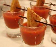 tomato soup shots