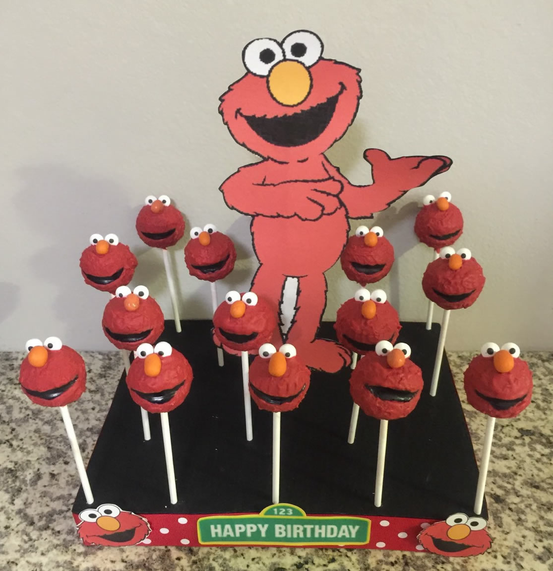 buy elmo cakepops