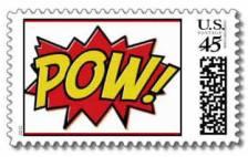 superhero stamps