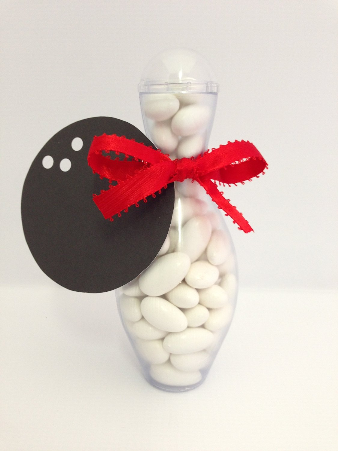 bowling pin candy containers