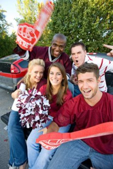 teen party ideas tailgate party