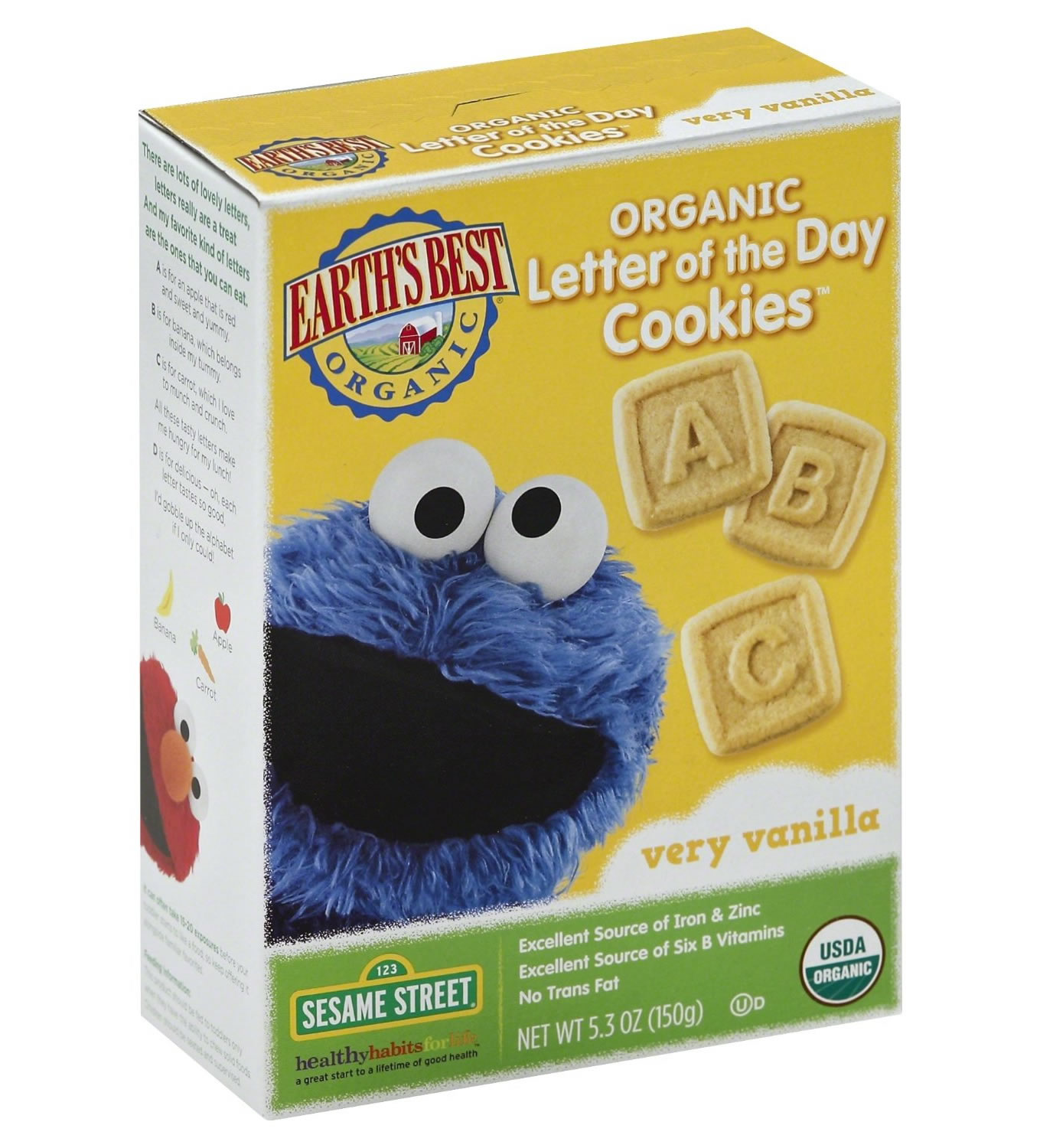 cookie monster sesame street crackers