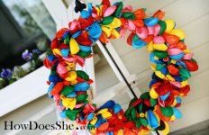 balloon wreath