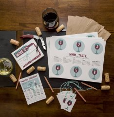 blind wine tasting kit
