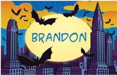 batman placemats