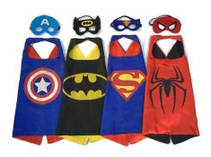 Superhero Capes Girls Alternatively Use These Cardboard Party