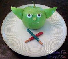 star wars yoda snack